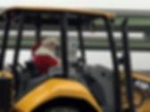 Santa leaving on bulldozer.jpg