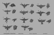 Hunting Bird Designs