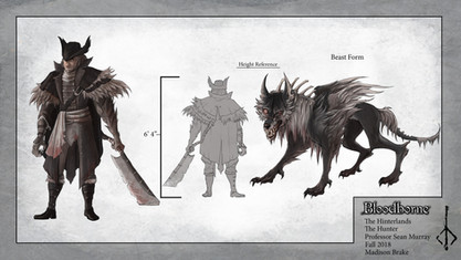 Werewolf Design Page
