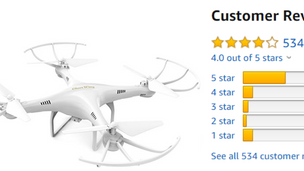 Top 4 Best Reviewed Drones under $50 on Amazon