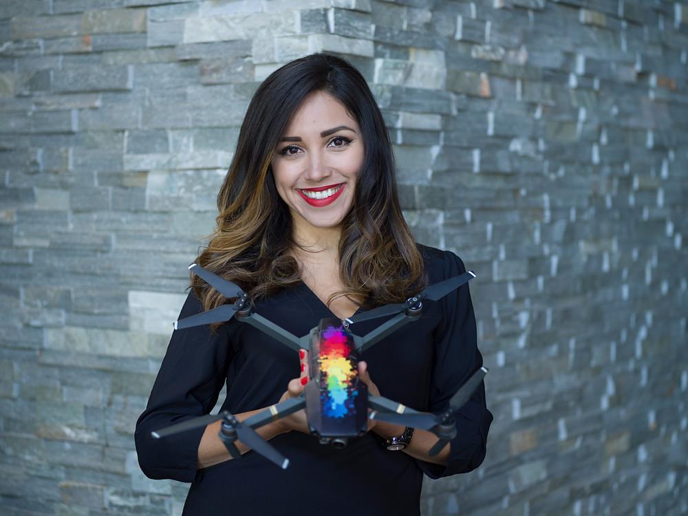 Elena Buenrostro, Women Who Drone Founder