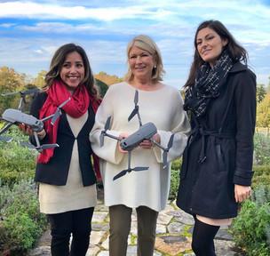 Martha Stewart Talks Drones with Women Who Drone