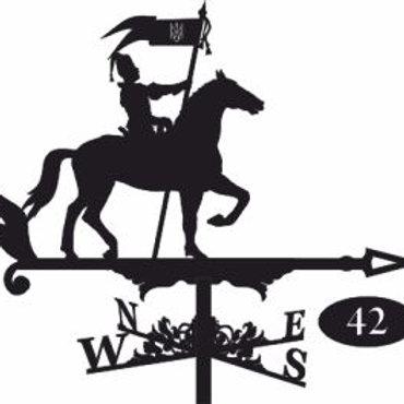 Флюгер №42 Козак на коне