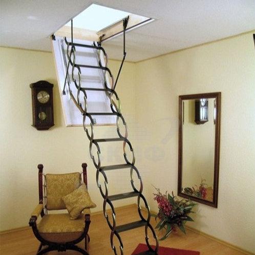 Металлическая лестница LST (FAKRO) 120*70 см