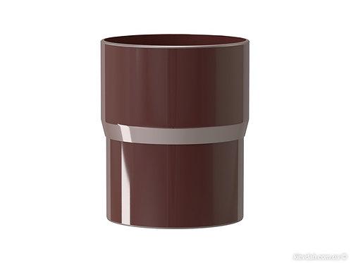 Соединитель трубы водосточной 100 мм
