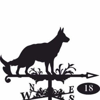 Флюгер №18 Собака