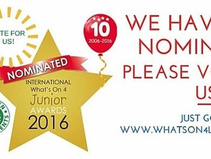 What's on 4 Junior Awards 2016