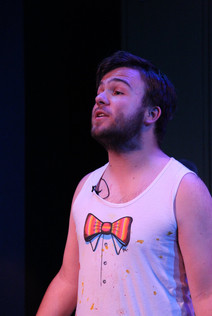 Will as Mr. Heere in BE MORE CHILL @ Marty & Penny Zlotnik Studio Theatre (Photo by Greg King)