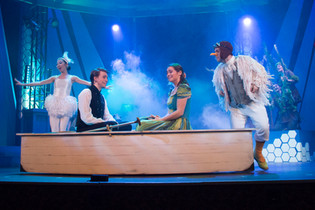Will as Scuttle in THE LITTLE MERMAID @ Brockville Arts Centre (Photo by Morgan Jaylyn Photography)