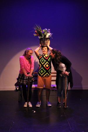 GODSPELL @ Marty & Penny Zlotnik Studio Theatre (Phot by Greg King)