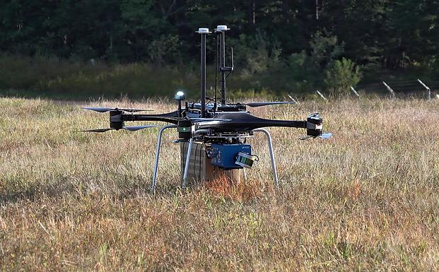 Autonomous Drone Platform Resupplies Military Ops