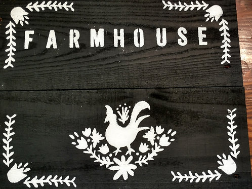 Farmhouse Rooster