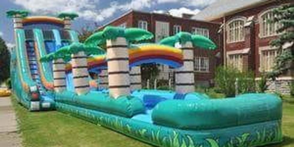 Homeschoolers Slip & Slide Inflatables Free Event