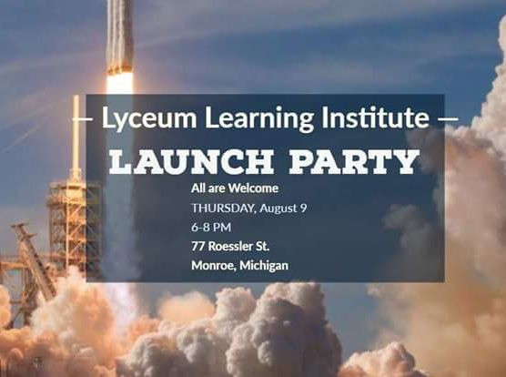 🚀All of us at the Lyceum are excited for the launch party. Meet our wonderful teachers, see the red