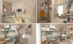 mobili su misura camera bambino