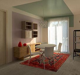 rendering fotorealistico progettazione di interni interior design