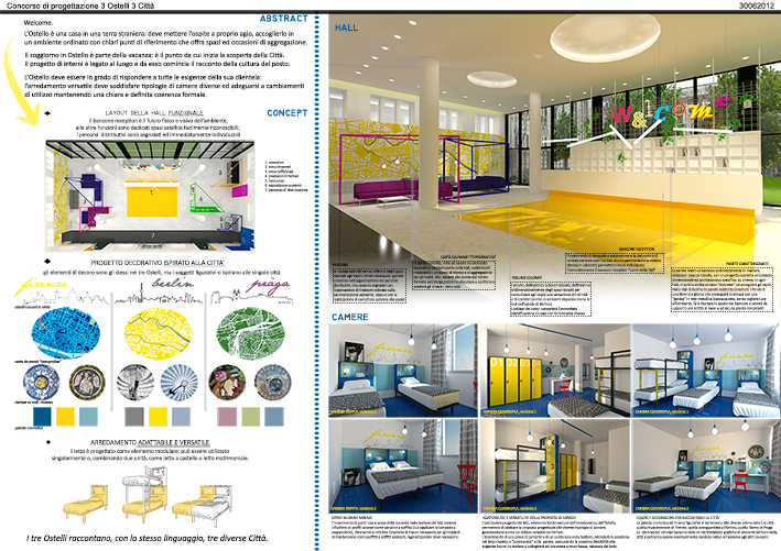 layout funzionale-infografica-proget