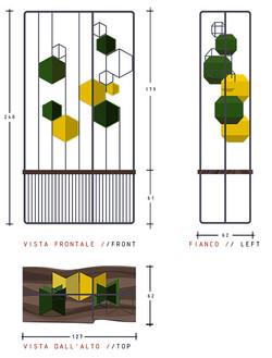 libreria-design-moduli-esagoni