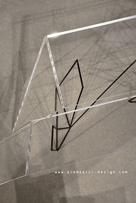 consolle in stile minimal, , che puo essere usata come una scrivania di design