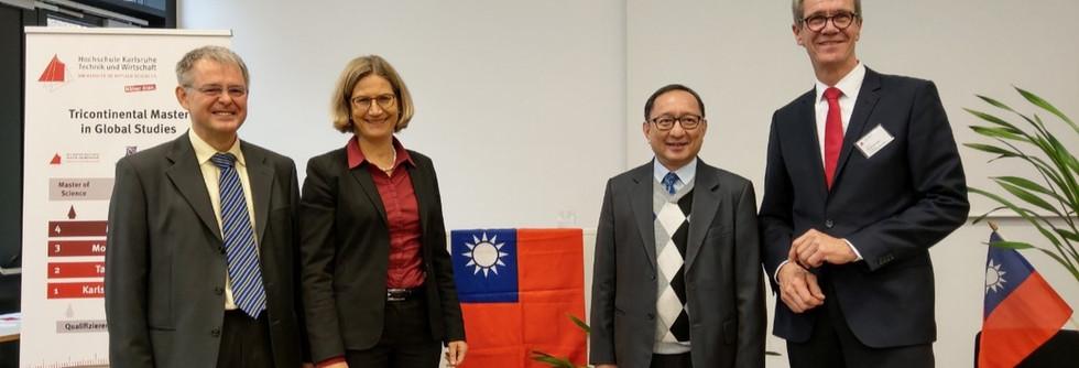 高玉泉主任成為德國HKA第一位非德籍榮譽教授