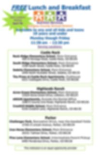 Emergance Feeding All sites- poster 2020