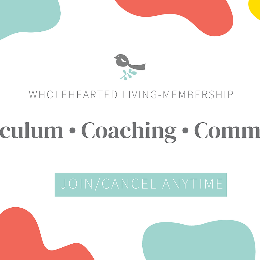 Wholehearted Living Membership & Community
