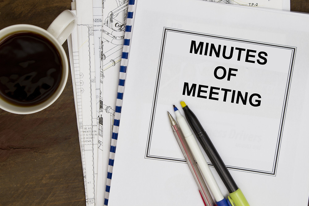 Minutes Of Meeting