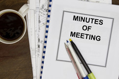 Effective Governance Series. Meeting Minutes