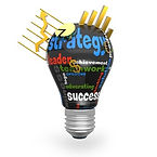 Strategics Canada, Strategy lightbulb, strategic planning and project planning.