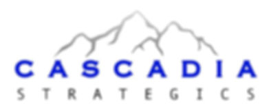 Cascadia Strategics Logo, Public Relations and Branding. A Division of Strategics Canada
