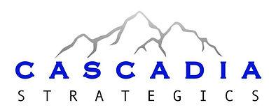 Cascadia Strategics Logo, Public Relations and Branding. A Division of Strategics Canada