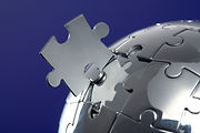 Globe puzzle, creative consulting world wide.