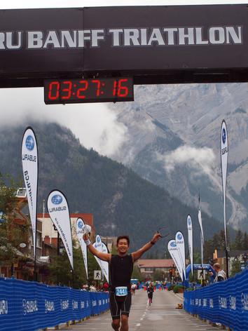 Banff Triathlon 2013