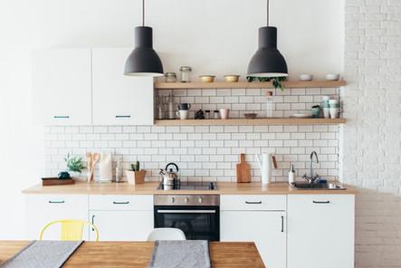 Κουζίνα σε ενοικιαζόμενο δωμάτιο