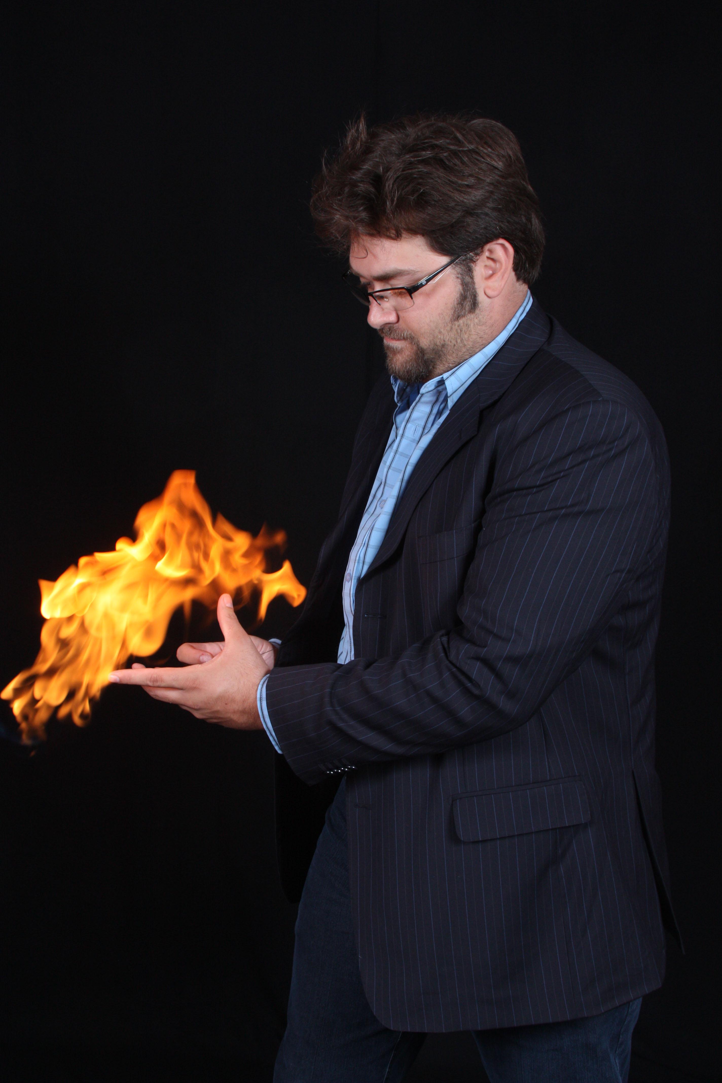 Sessão fotos fogo