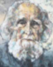 GASTON SOUBLETTE - painting - Christian Mera - retrato
