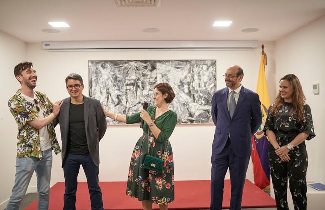 Centro Cultural Ecuatriano en Madrid.