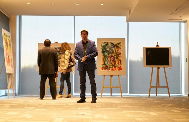 Exposición en Embajada de Ecaudor en Chile