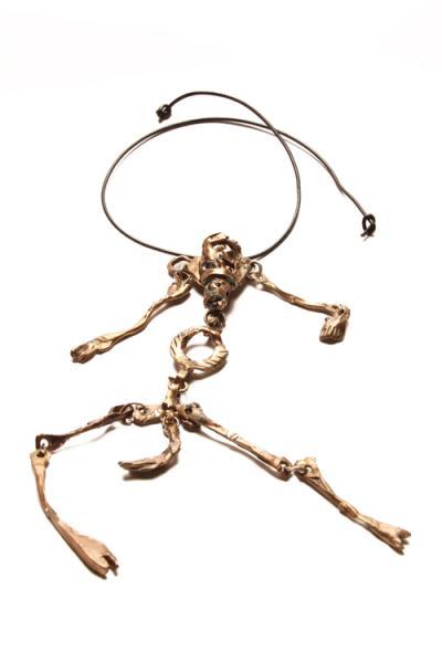 Uomo cavallo - pendente