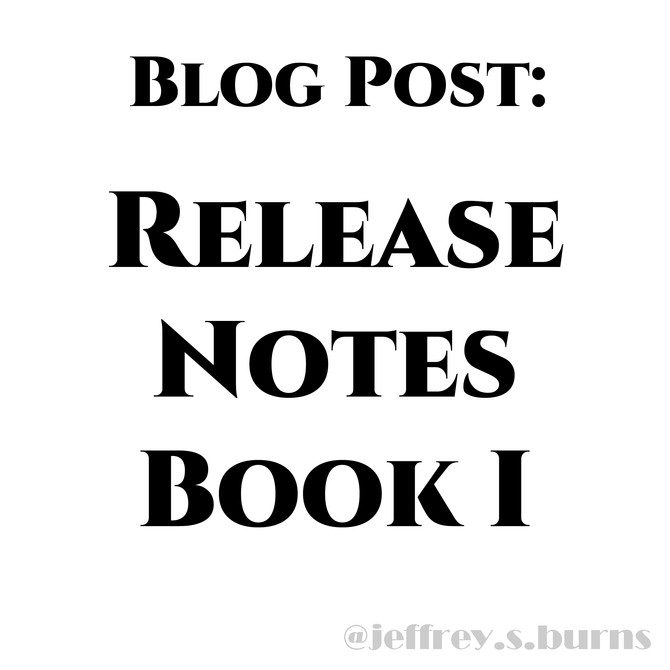 Release Notes Book 1