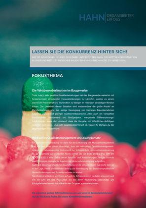 ISO 9001 Qualitätsmanagementsysteme