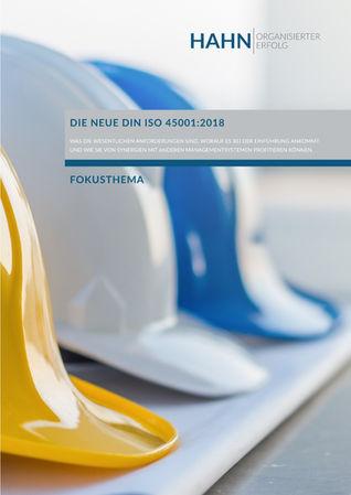 ISO 45001 Arbeitsschutzmanagementsyteme