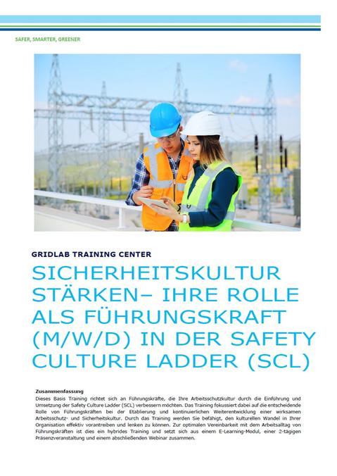 Produktdatenblatt SCL Training