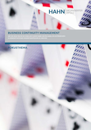 ISO 22301 Business Continuity Management (BCM)