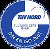 TÜV NORD ISO 9001 Prüfzeichen