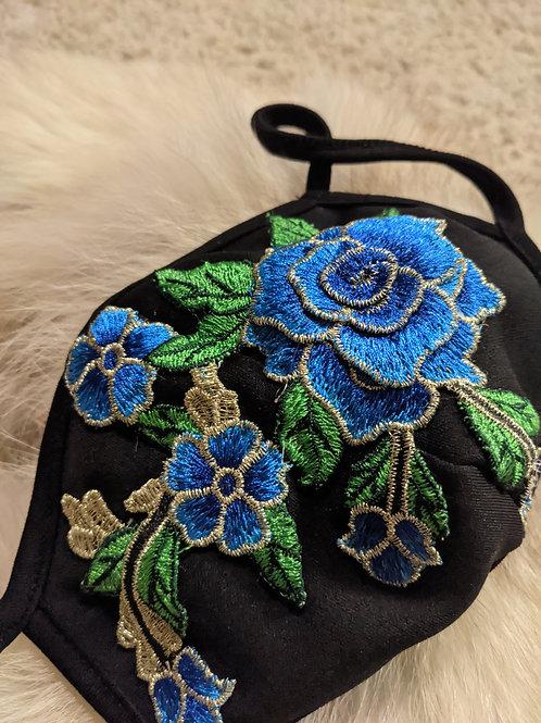 Blue Rose Mask