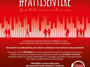 #FATTI SENTIRE su TRS RADIO