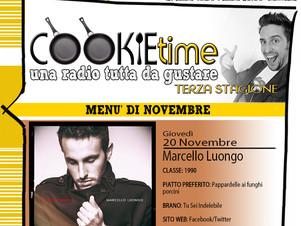 Mattia Garro e Cookie Time alle prese con Marcello Luongo, Artista Chef di TRS Radio della settimana