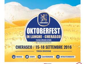 OKTOBERFEST in Langhe - Cherasco   15 settembre - 18 settembre 2016