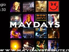 "MAYDAYS live nel ""ViVOLiVE in ME"" di TRS Radio!"
